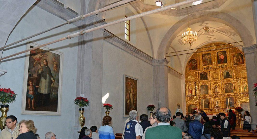 Entrega la Secretaría de Cultura las obras de restauración y rehabilitación del Templo de La Conchita : Foto © FSM, CONACULTA