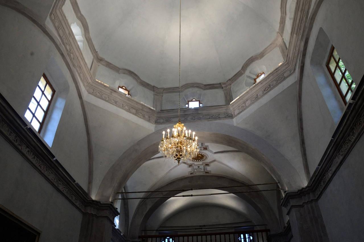 Los trabajos consistieron en la restructuración de la cúpula, bóvedas y fachada; la colocación de tensores y la puesta en operación de instalaciones hidro-sanitarias : Foto © FSM, CONACULTA
