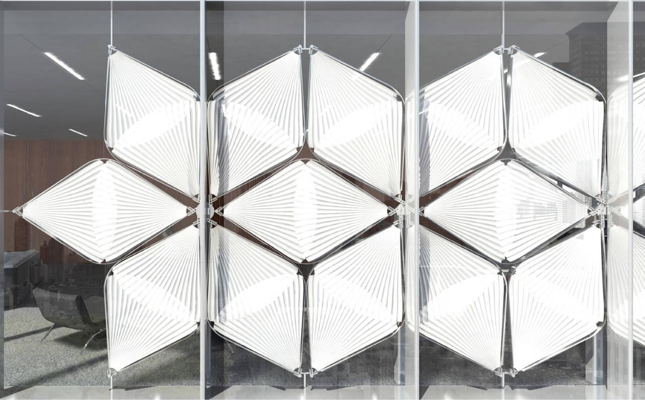 "Laka Competition 2016 First Prize ""Snapping Facade"" diseñado por Jin Young Song and Jongmin Shim, USA : Render courtesy of © Laka Architektura"