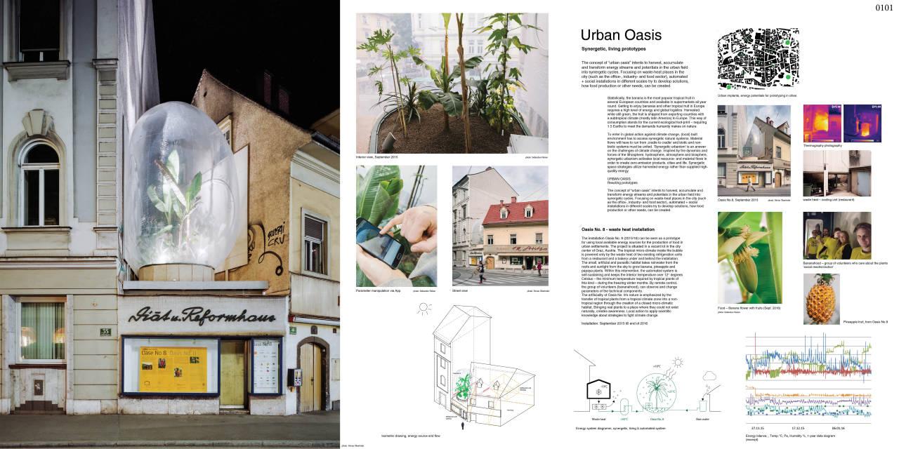 "Laka Competition 2016 Third Prize ""URBAN OASIS / Prototipos habitables, sinergéticos"" Markus Jeschaunig, AUSTRIA : Render courtesy of © Laka Architektura"