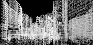 Arquitectura abstracta vía Shutterstock