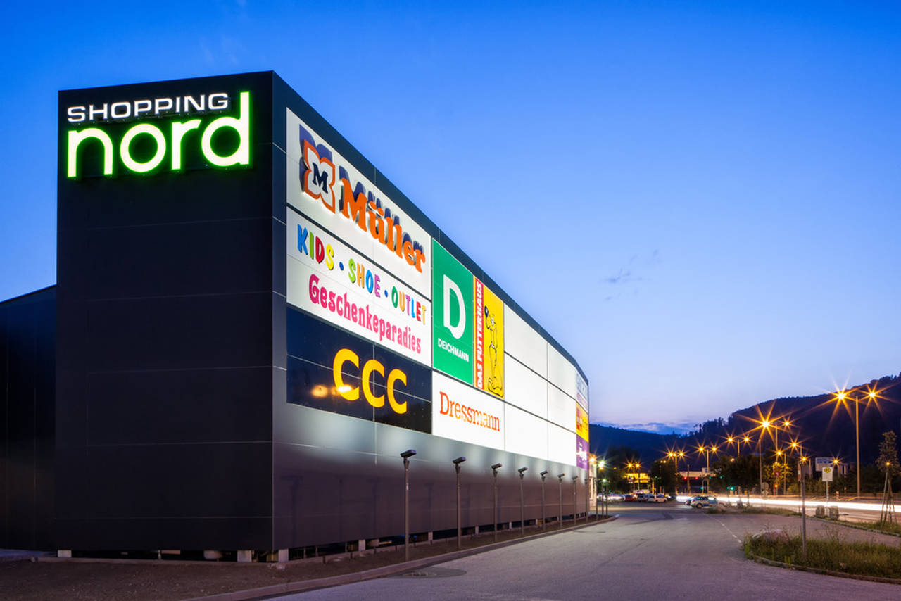 Entire site of Shopping Nord Graz : Photo credit © Markus Kaiser