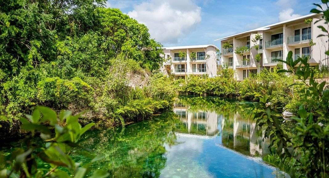 Andaz Mayakoba Resort Mangrove Lagoon View : Photo © Andaz Mayakoba Resort - © Grupo Hyatt