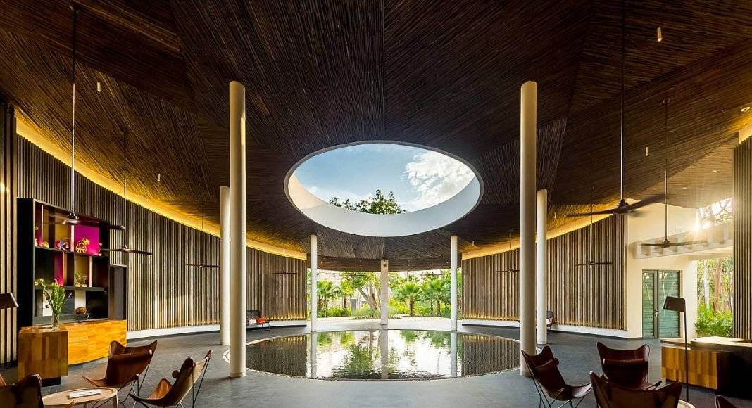 Andaz Mayakoba Resort Sanctuary Lounge : Photo © Andaz Mayakoba Resort - © Grupo Hyatt