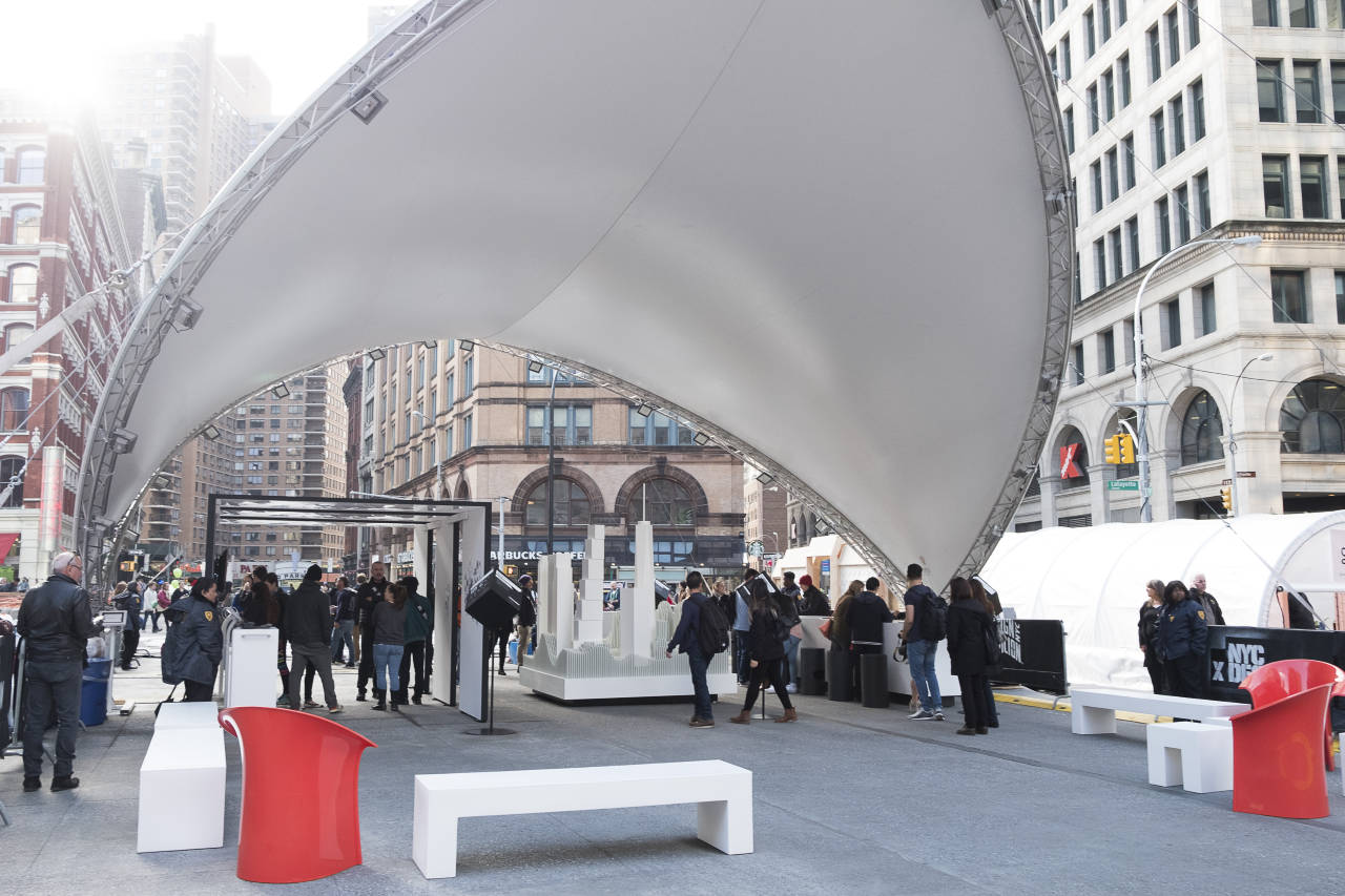 Design Pavilion 2016 en Cooper Square : Photo courtesy of © Susan Grant Lewin Associates