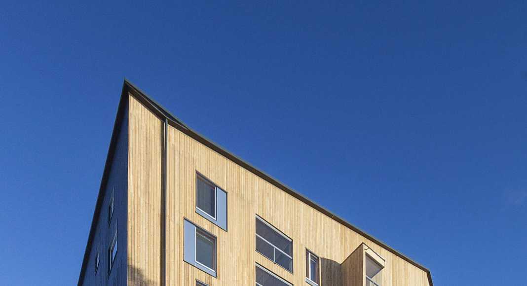 Jyväskylä, FI Puukuokka Housing Block : Photo © Mikko Auerniitty