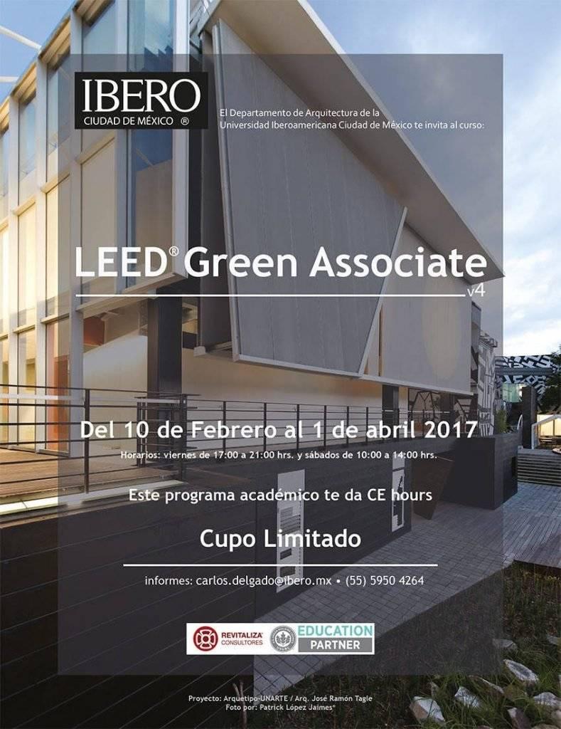 Curso LEED® Green Associate v4 – Primavera 2017 : Fotografía © Patrick López Jaimes