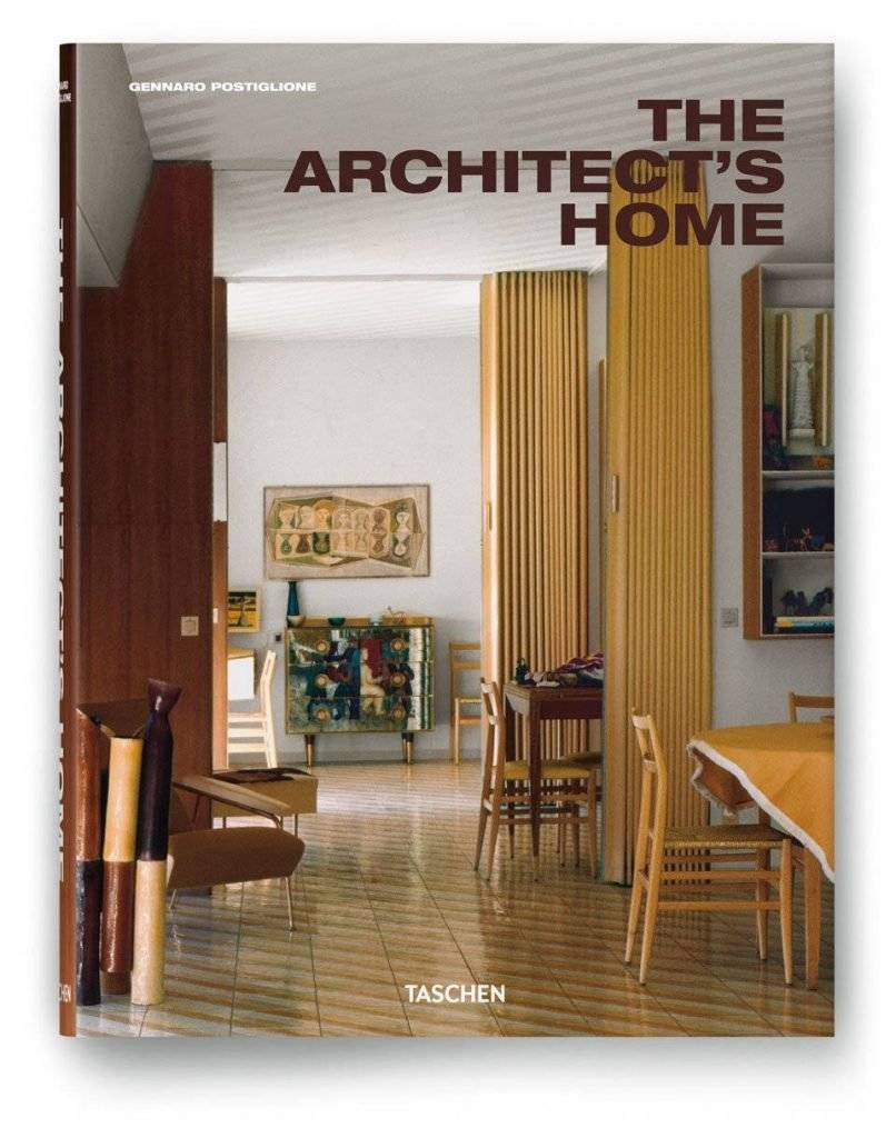 The Architect's Home por Gennaro Postiglione, Tapa dura, 20,8 x 27,4 cm, 480 páginas : Cover © TASCHEN