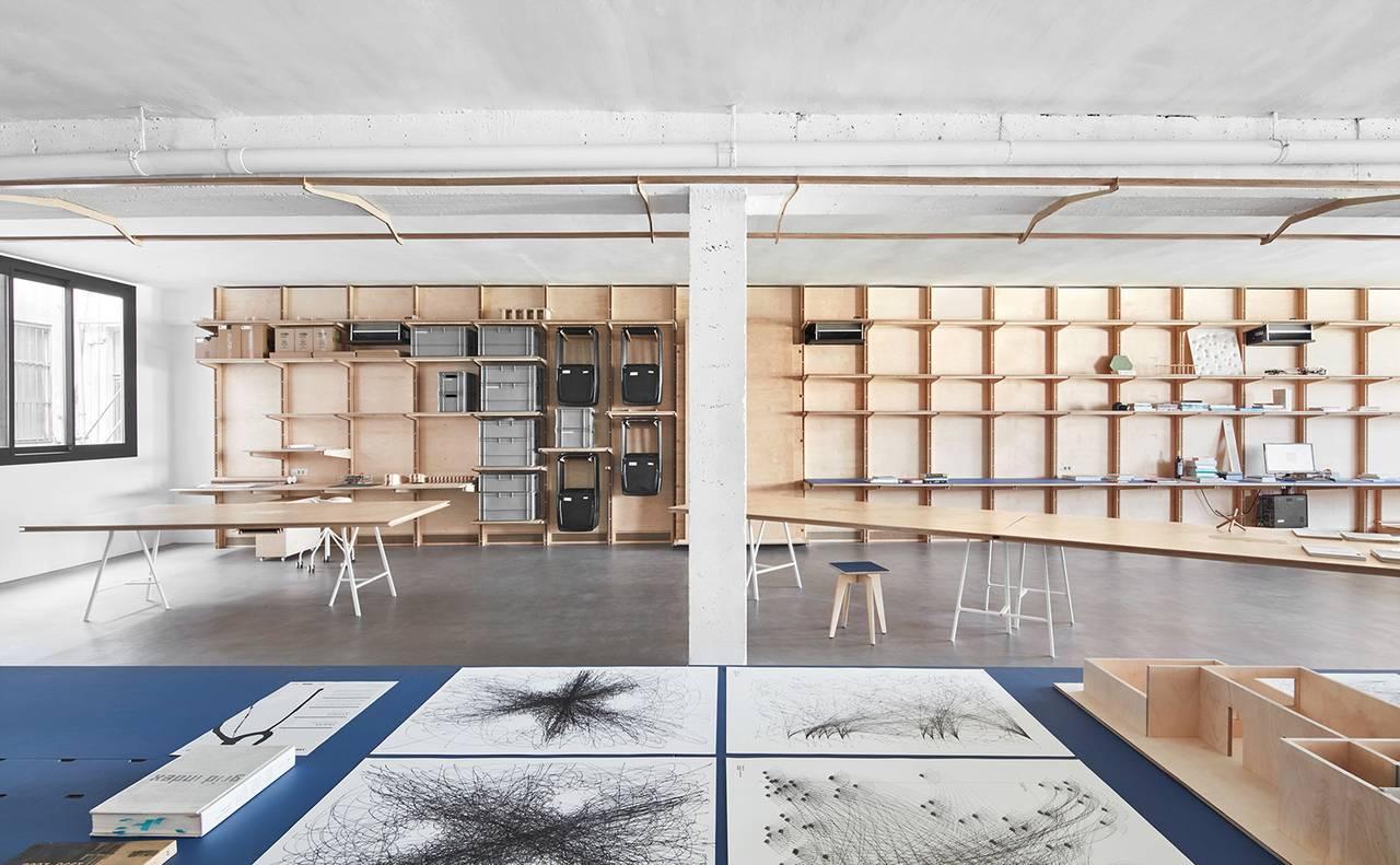 Oficinas Centrales de APPAREIL Distrito de Innovación 22@Barcelona : Fotografía © José Hevia