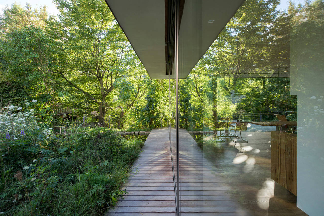 House Rheder II Glass reflections : Photo credit © Thomas Mayer