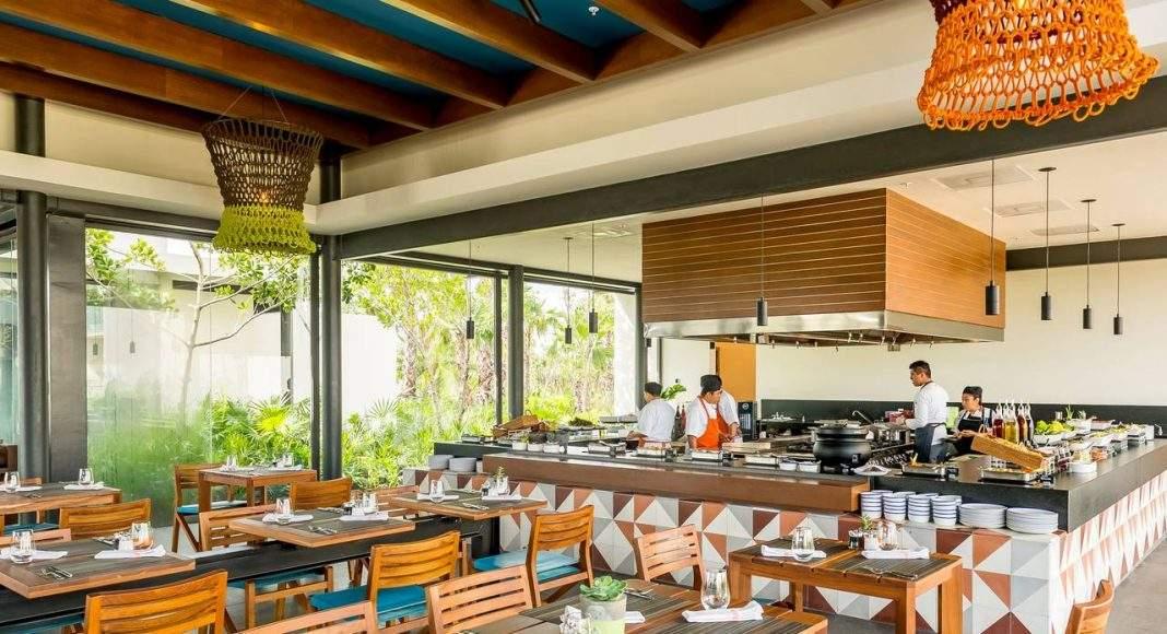 Andaz Mayakoba Resort Cocina Milagro Open Kitchen : Fotografía © Andaz Mayakoba Resort by Grupo Hyatt