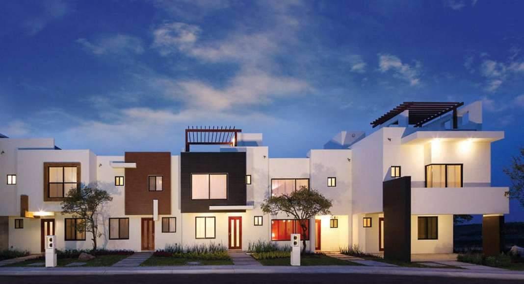 Modelos de Casas de un Desarrollo Inmobiliario en Querétaro de Casas Platino : Fotografía © Casas Platino