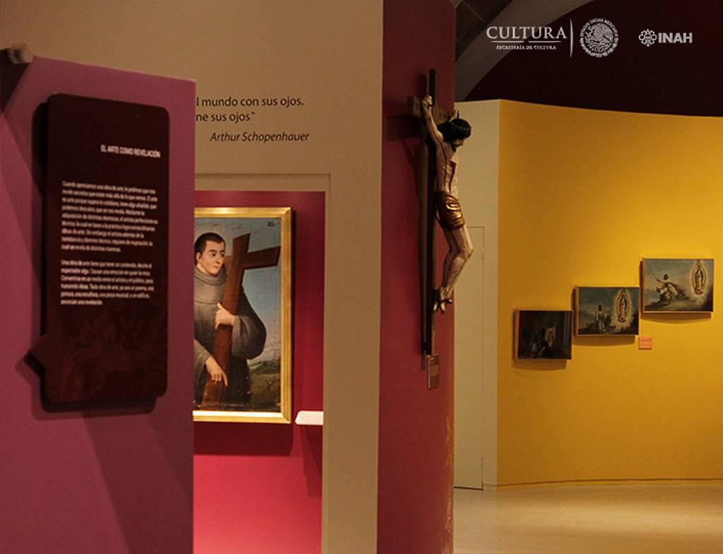 La muestra reúne 44 piezas de arte novohispano nunca antes expuestas en conjunto : Foto © Museo de Guadalupe, INAH