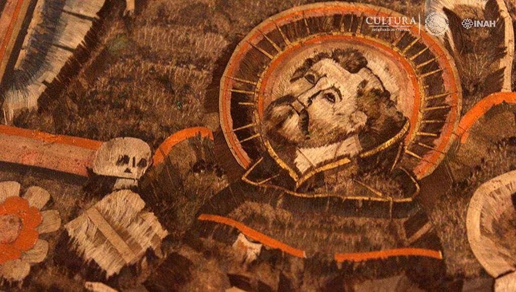 La muestra reúne obra plumaria, pictórica, libros de coro y escultura en madera, entre otras : Foto © Museo de Guadalupe, INAH