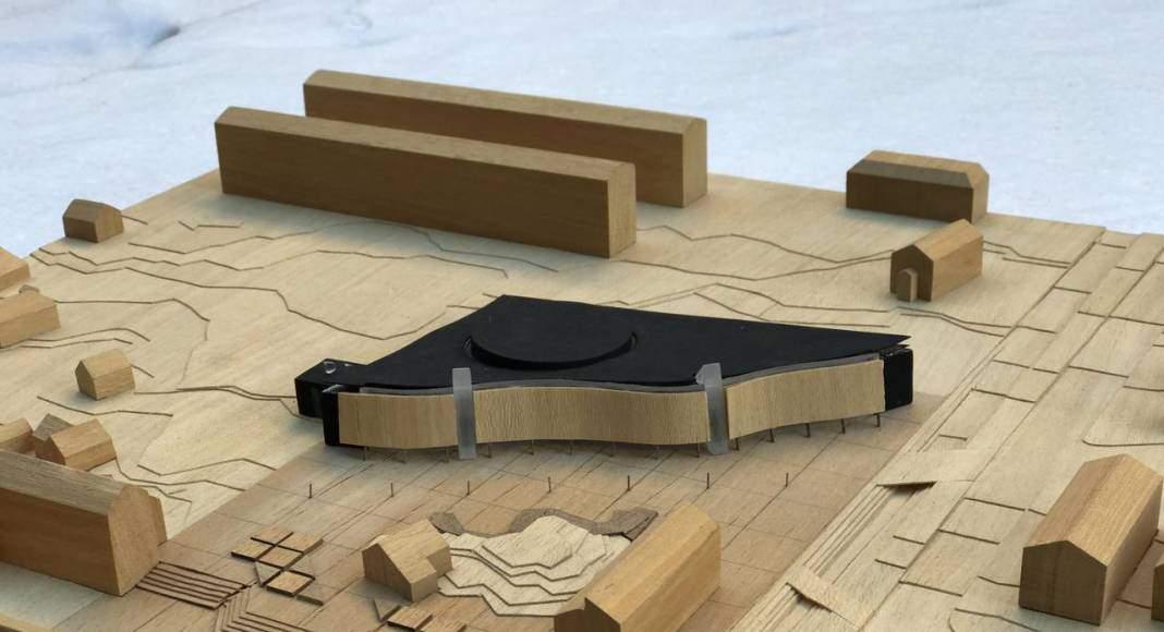 Centro Cultural Katuaq diseñado por Schmidt Hammer Lassen : Model © Schmidt Hammer Lassen Architects