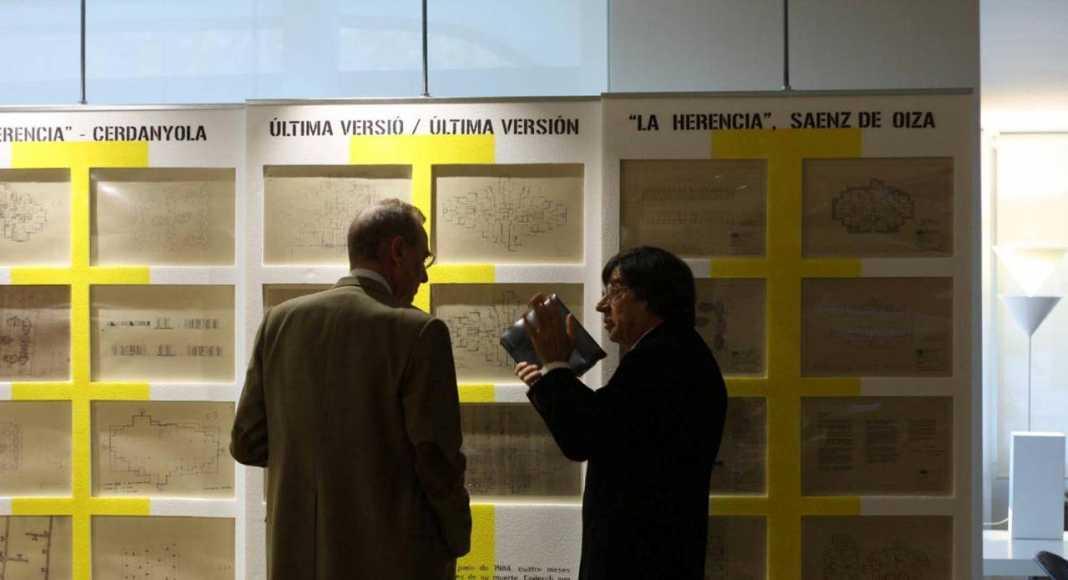 Paneles Expo La Herencia de Coderch : Fotografía © Miguel Ángel Aguiló