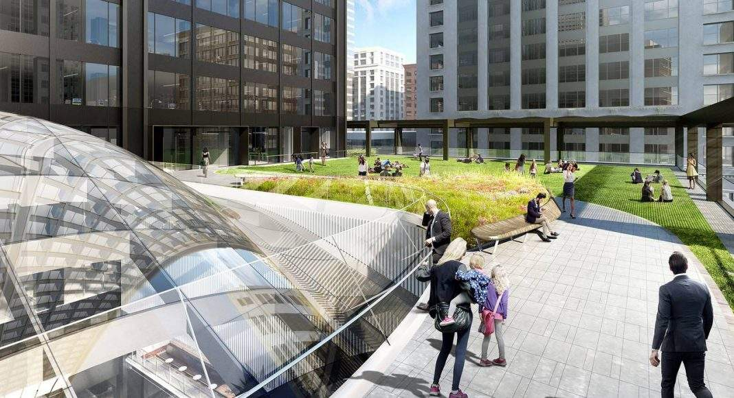 Willis Jackson Roof del Nuevo Diseño para la Remodelación de la Icónica Willis Tower : Render © Gensler, courtesy of © Willis Tower