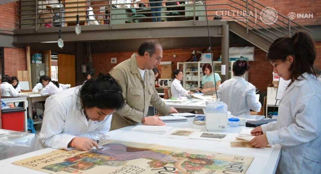"""Escuela Nacional de Conservación, Restauración y Museografía """"Manuel del Castillo Negrete"""" : Foto © Mauricio Marat, INAH"""