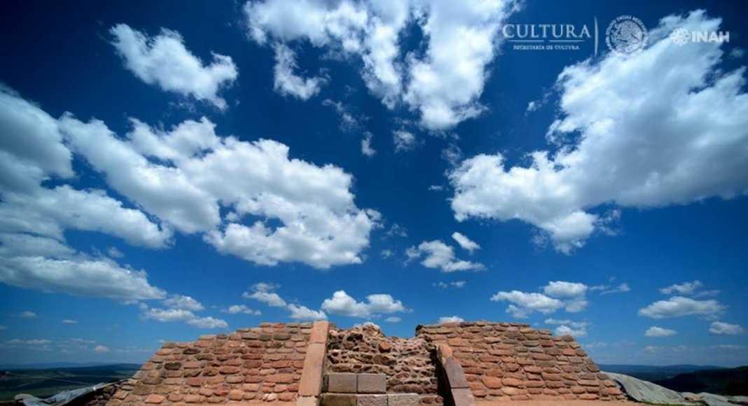 Sitio arqueológico Cerro del Teúl, al sur de Zacatecas : Foto © Mauricio Marat, INAH