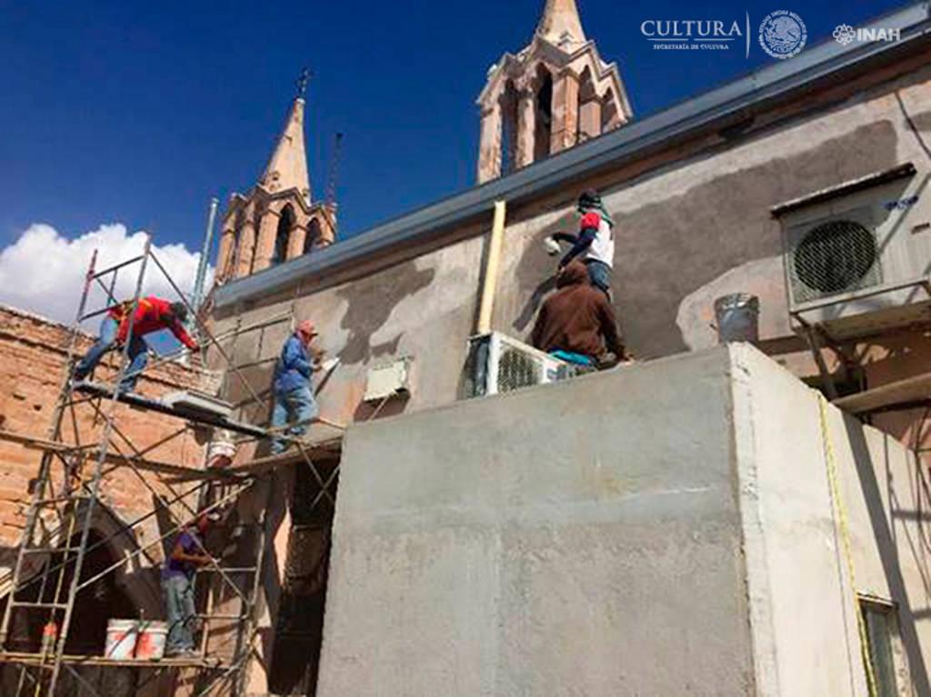 El INAH-Durango atendió la infraestructura física dañada por el fenómeno climatológico : Foto © Centro INAH Durango