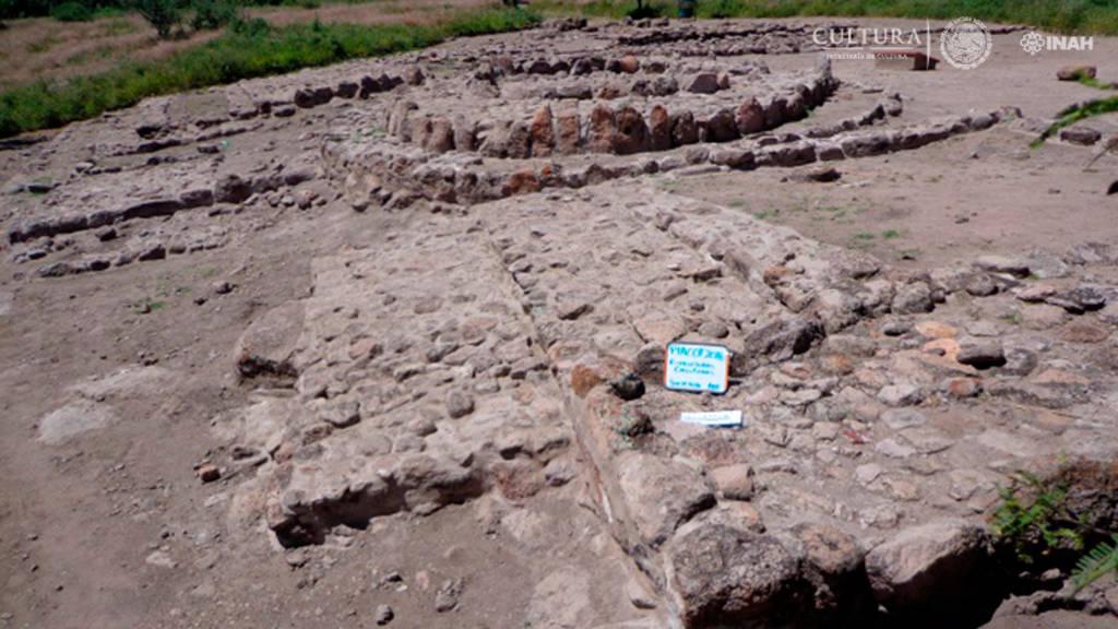 En la zona arqueológica La Ferrería se llevaron a cabo tareas de consolidación de estructuras prehispánicas : Foto © Centro INAH Durango