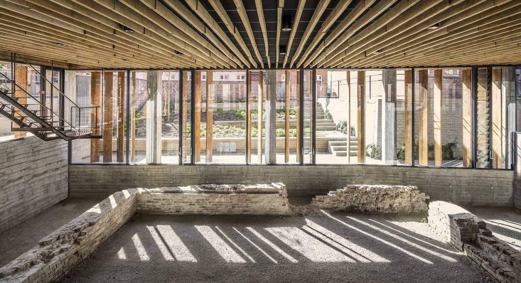 Kannikegården, Ribe, DK diseñado por Lundgaard &Tranberg Architects, Copenhagen : Fotografía © Anders Sune Berg