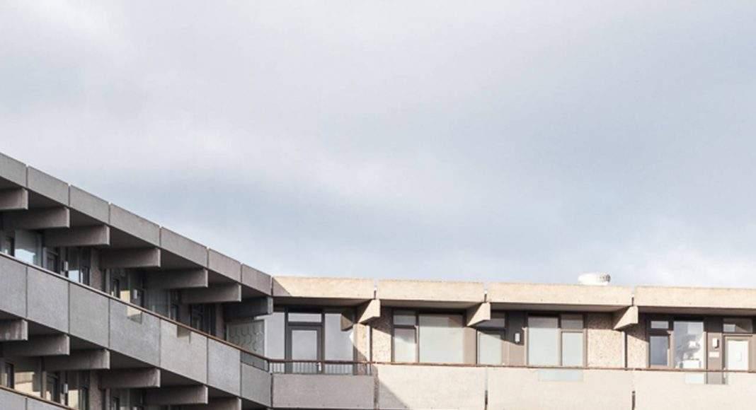 deFlatKleiburg, Amsterdam, NL diseñado por NL Architects and XVW architectuur, Amsterdam : Fotografía © Stijn Spoelstra