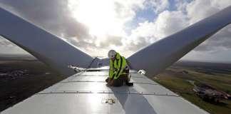 Vestas Wind Turbine in Denmark : Photo © Vestas / Bloomberg New Energy Finance