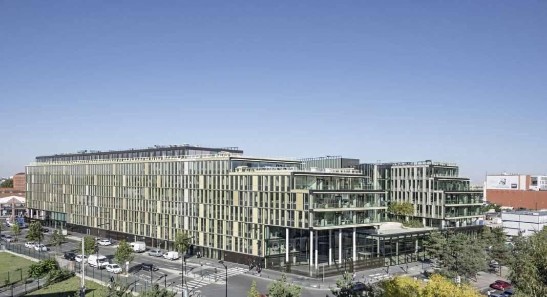 Veolia HQ Panoramic View designed by DFA | Dietmar Feichtinger Architectes : Photo © Hertha Humaus