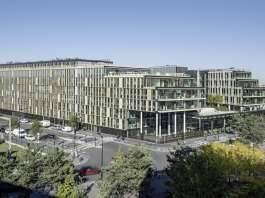 Veolia HQ Panoramic View designed by DFA   Dietmar Feichtinger Architectes : Photo © Hertha Humaus