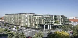 Veolia HQ Panoramic View designed by DFA | Dietmar Feichtinger Architectes : Photo © Hertha Humaus