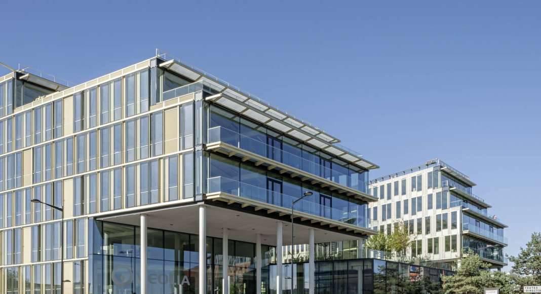 Veolia HQ Main Access designed by DFA | Dietmar Feichtinger Architectes : Photo © Hertha Humaus