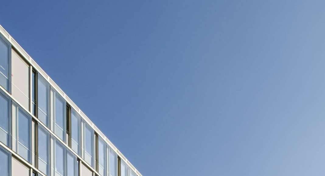 Veolia HQ South Facade designed by DFA | Dietmar Feichtinger Architectes : Photo © Hertha Humaus