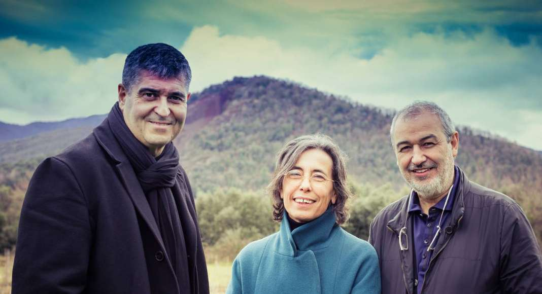 Rafael Aranda, Carme Pigem and Ramon Vilalta : Photo by © Javier Lorenzo Domínguez, courtesy of © The Pritzker Architecture Prize