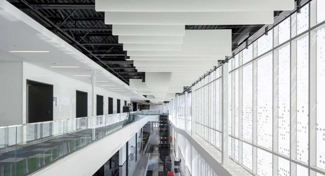 Centrexpo Cogeco Drummondville by CCM2 architects + Bilodeau Baril Leeming architects : Photo credit © Dave Tremblay