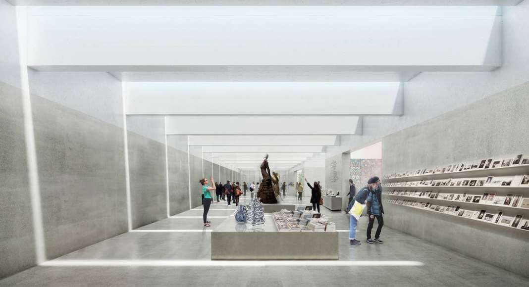 Renovation Museum Paleis Het Loo Entrance Area by KAAN Architecten : Render © The Beauty & the Bit and © KAAN Architecten