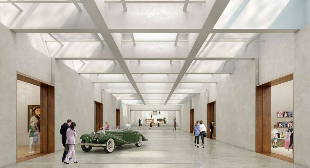 Renovation Museum Paleis Het Loo Grand Foyer by KAAN Architecten : Render © The Beauty & the Bit and © KAAN Architecten