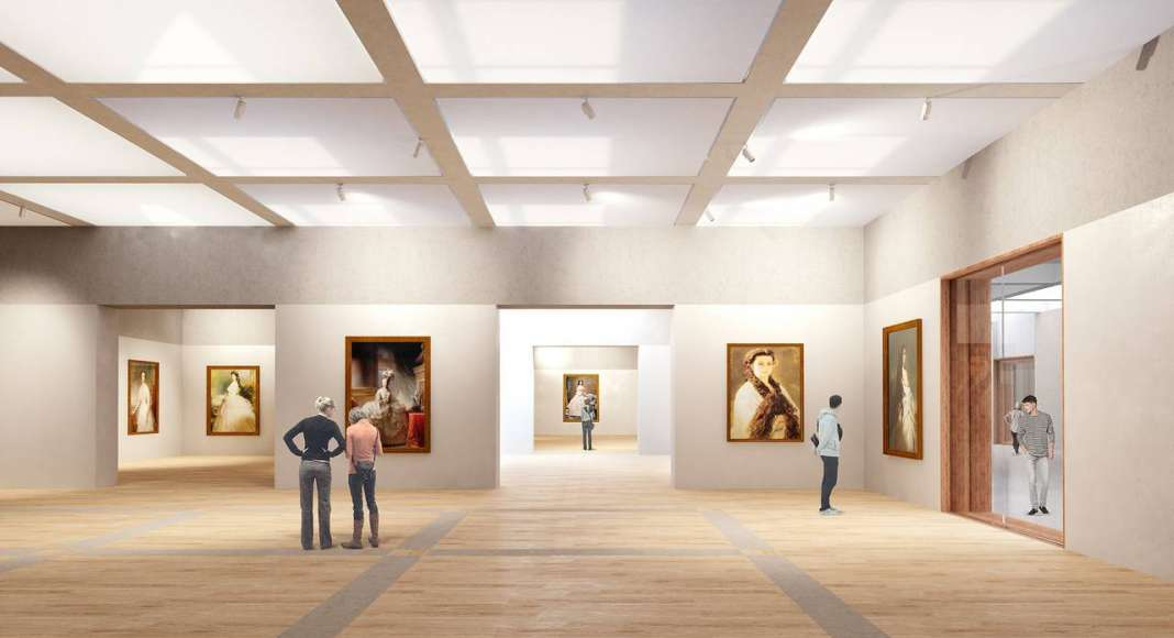 Renovation Museum Paleis Het Loo Temporary Exhibition Space by KAAN Architecten : Render © The Beauty & the Bit and © KAAN Architecten