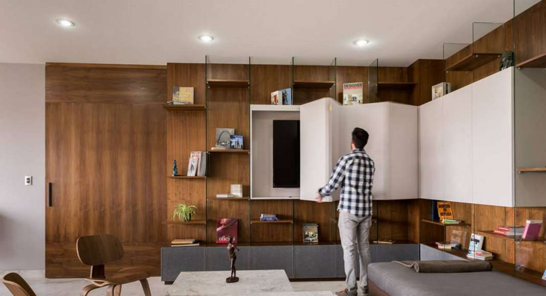 Premio Prisma 2016 - Habitacional menor a 150 m: Facileibolero arquitectura, Proyecto: Departamento Eucalipto : Fotografía cortesía de © Habitat Expo