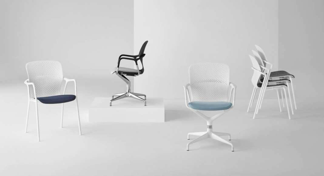 Herman Miller presenta un nuevo concepto en sillas de reuniones; Keyn Chair Group : Foto © Herman Miller México