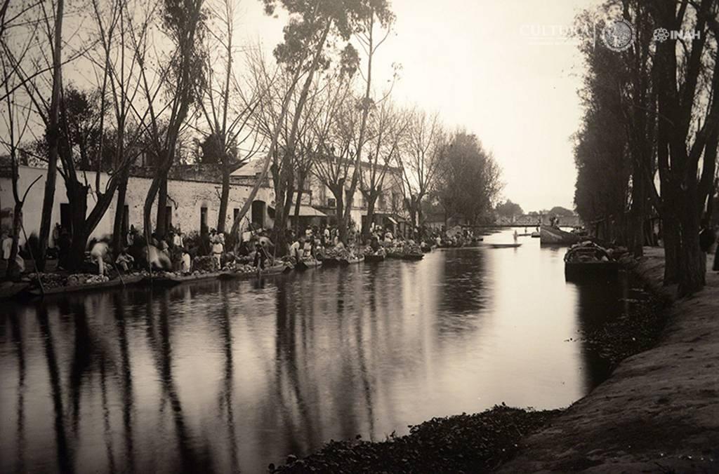 Canal de la Viga. Winfield Scott. 1908 : Foto © SECRETARÍA DE CULTURA.INAH.SINAFO.FN.MX