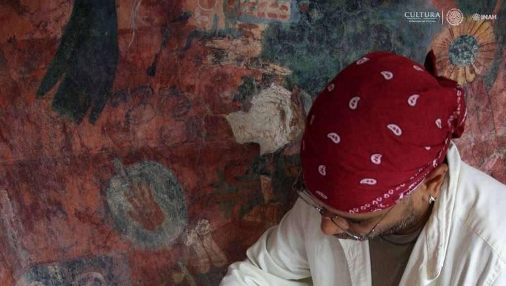 Restauradores del Centro INAH Chiapas han recuperado integralmente las escenas : Foto Cortesía © Haydeé Orea, INAH