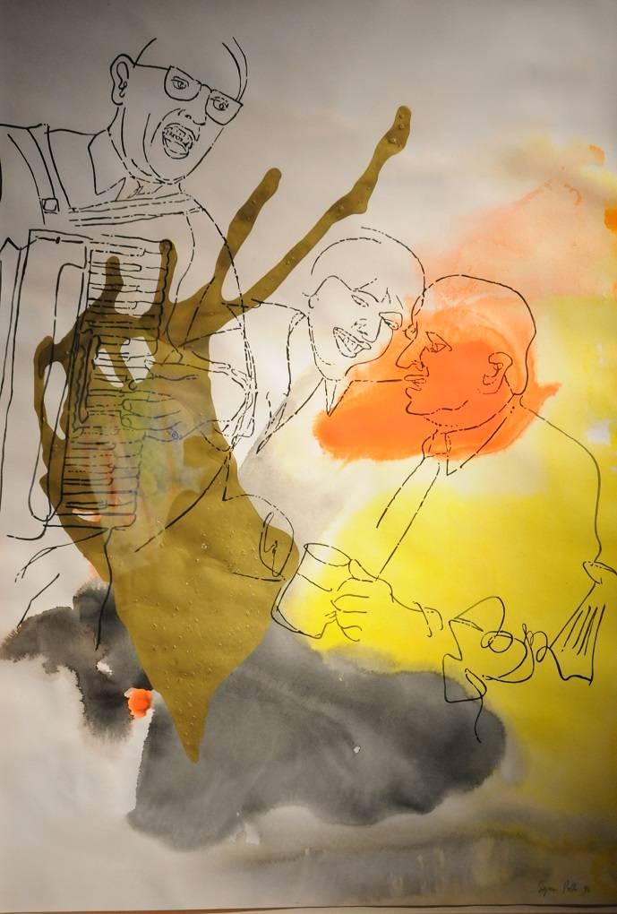 Sigmar Polke. Música de un origen desconocido en el Museo de Arte Moderno : Fotografía © RMM, CONACULTA