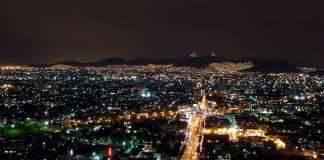Cities night scene : Photo © ONU-Hábitat