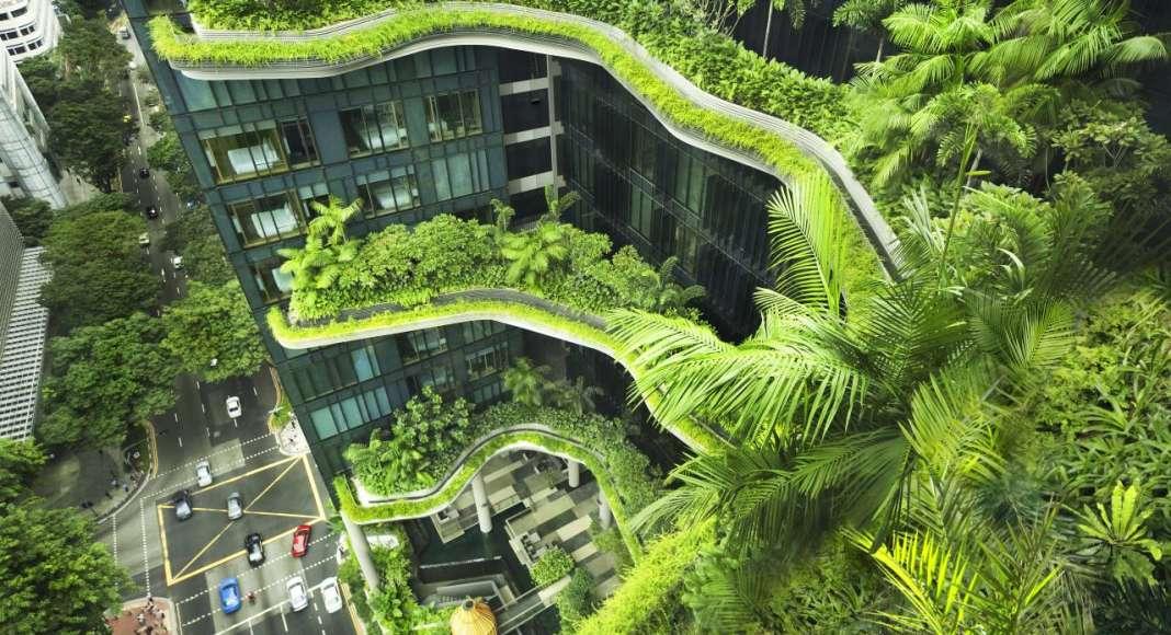 PARKROYAL on Pickering, Singapore : Photo credit © Patrick Bingham-Hall