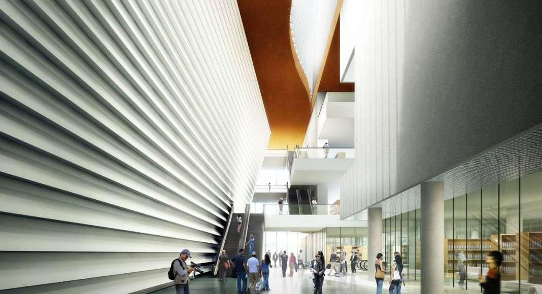 Centro Cultural y de las Artes de Guangming diseñado por RMJM : Render © RMJM Shenzhen