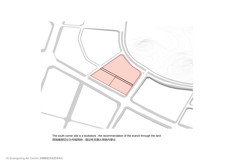 Centro Cultural y de las Artes de Guangming Plan 01 : Drawing © RMJM Shenzhen