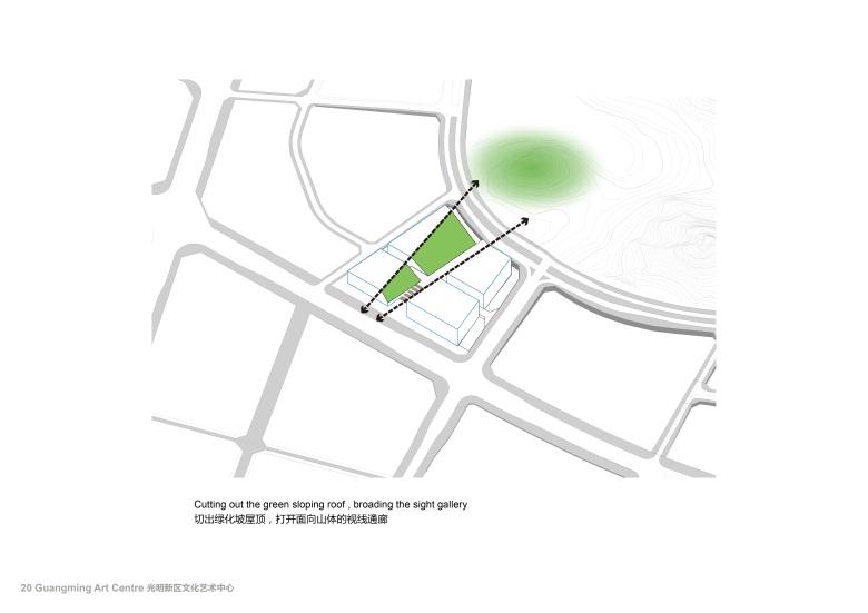 Centro Cultural y de las Artes de Guangming Plan 05 : Drawing © RMJM Shenzhen