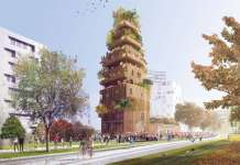 Réalimenter Massena by Lina Ghotmeh Architects : Render © Lina Ghotmeh — Architecture