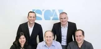 Socios SGA de izquierda a derecha y de arriba a abajo: Adam Spagnolo, John Sullivan, Michael Schroder, Matt Michel and Gable Clarke : Photo © Ari Burling
